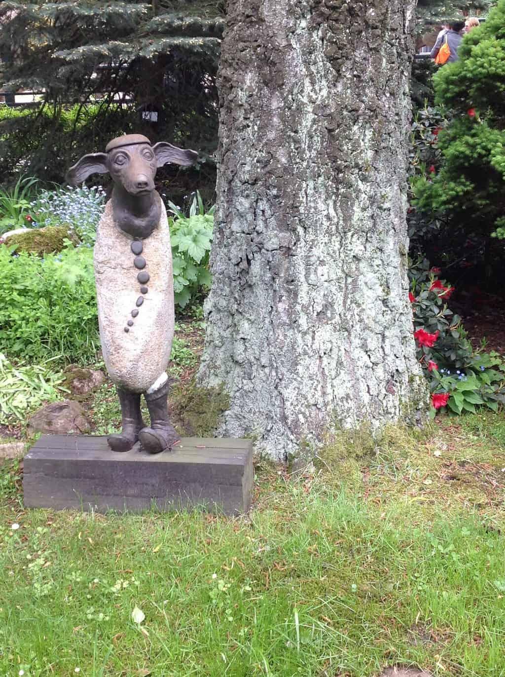 Dziś o rzeźbach! Tych ogrodowych!